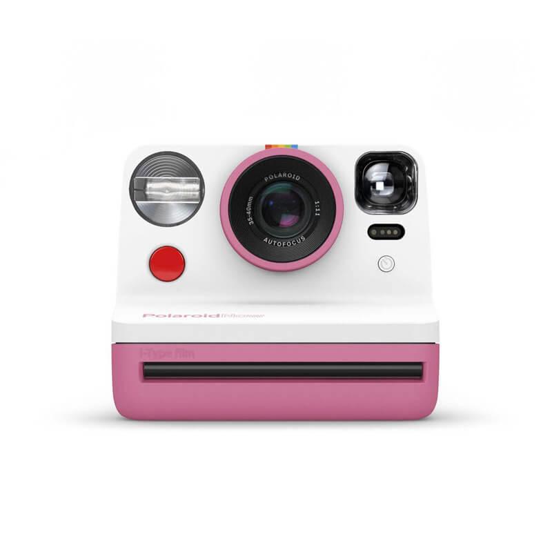 Polaroid Now Pink face
