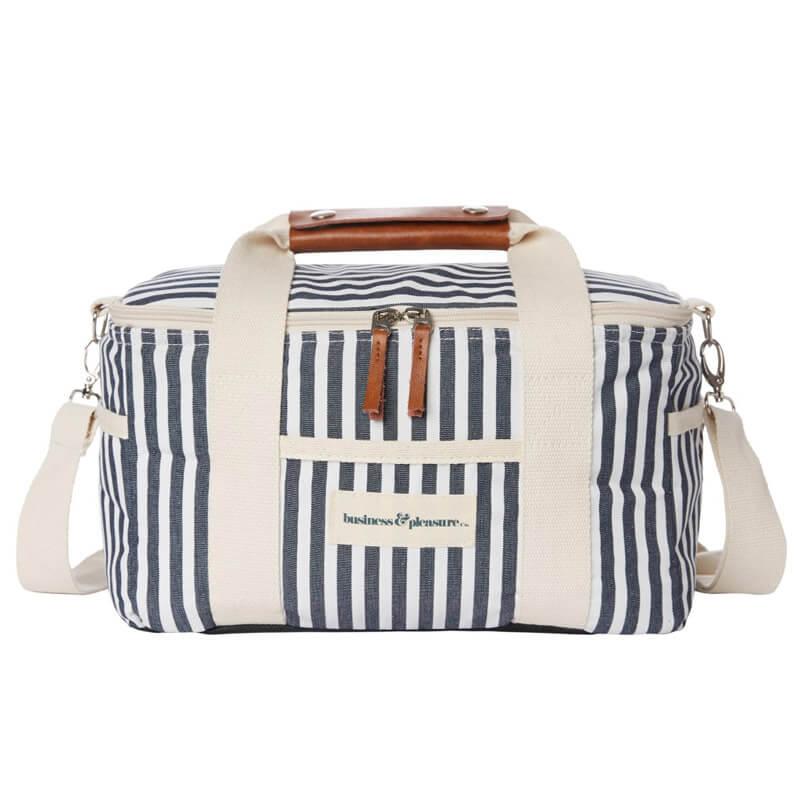 Premium cooler Laurens Navy Stripe